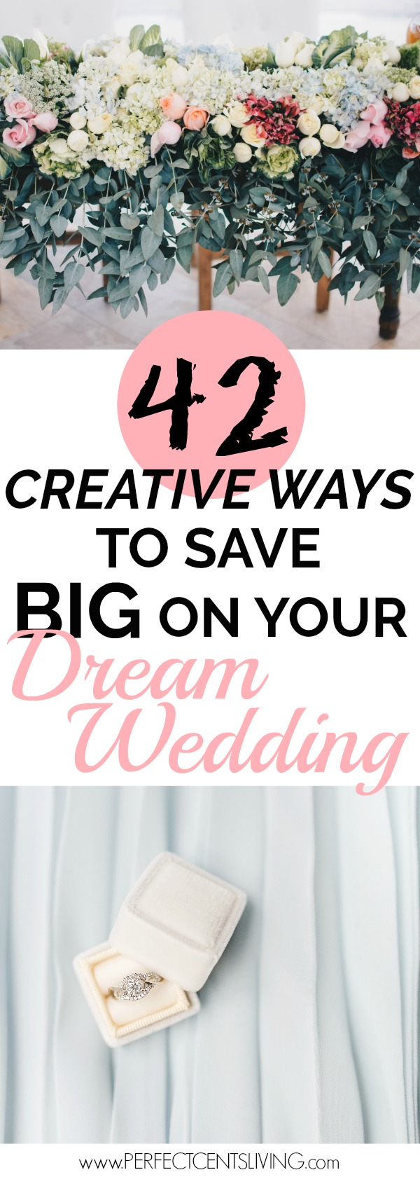 42 creative ways to save big on your dream wedding. Black Bedroom Furniture Sets. Home Design Ideas