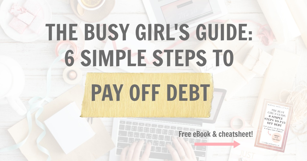 how to pay off your debt in 6 months