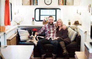 This couple moved into a camper to save money and pay off $50,000 of debt.