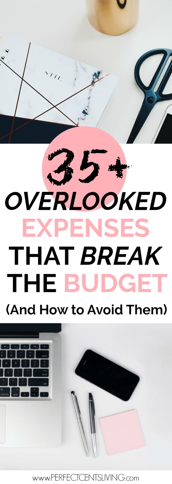 Here is a master list of 35+ overlooked expenses that break the budget every month. Stay on budget by using this one method to avoid overlooked expenses.